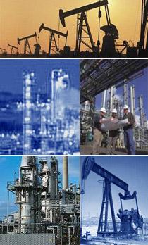 petrol kuyulari, dogalgaz kuyulari, rafineriler
